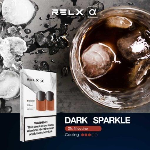 RELX Alpha Dark Sparkle