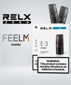 RELX Zero Pod - ตัวพอทรสชาติต่างๆ